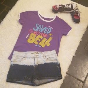 Tops - Saved By The Bell  Retro graphic Tee